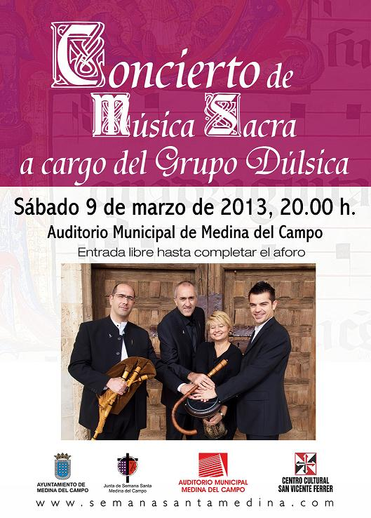cartel concierto musica sacra